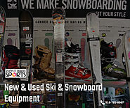 New & Used Ski & Snowboard Equipment
