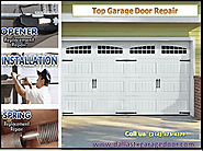 Broken Garage Door Spring Repair Dallas, TX