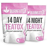 Burnfatea 14 Day Teatox Set (NO LAXATIVE EFFECT, Weight Loss Tea, Detox Tea, Slimming, Diet Tea) by Burnfatea
