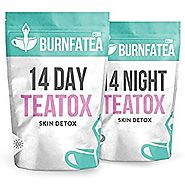 Burnfatea 14 Day Teatox Skin Detox - Healthy Clear Skin, Weight Loss Tea, Nourish Problem Skin, Detox Tea, Delicious ...