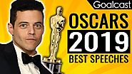 Oscars 2019 Most Inspiring Speeches | Rami Malek, Lady Gaga and Others | Goalcast