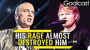 How did Eminem save Ed Sheeran | Life Stories | Goalcast