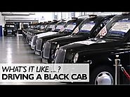 What's It Like Driving A Black Cab?