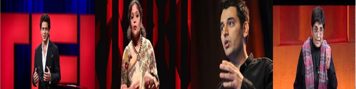 Headline for MUST WATCH Inspiring Ted Talks by Indian Speakers