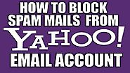 Contact 1-888-815-6317 to avoid spam email from Yahoo