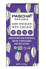 Pascha Organic Dark Chocolate, 85% Cacao