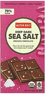 Alter Eco - Chocolate - Dark Sea Salt 70% Cocoa