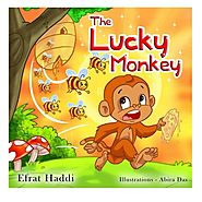 "Children's books : "" The Lucky Monkey "",( Illustrated Picture Book for ages 3-8. Teaches your kid the value of thinki..."