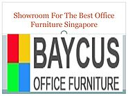 Showroom For The Best Office Furniture Singapore by Baycussg - issuu