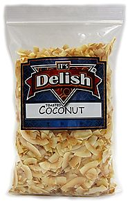 Its Delish Toasted Natural Coconut Chips