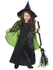 Toddler Baby/Wicked Witch of Oz Costume