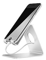 Cell Phone Stand, Lamicall iPhone Stand : Desktop Cradle, Dock For Switch, all Android Smartphone, iPhone 6 6s 7 Plus...