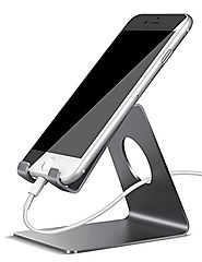 Cell Phone Stand, Lamicall iPhone Dock : Cradle, Holder, Stand For Switch, all Android Smartphone, iPhone 6 6s 7 Plus...
