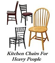 Big Kitchen Chairs For Heavy People