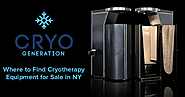 Where to Find Cryotherapy Equipment for Sale in NY