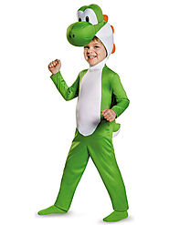 Super Mario Bros: Yoshi Costume For Toddlers