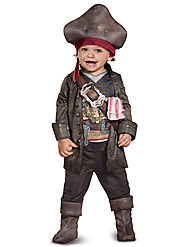 Toddler Baby/Captain Jack Costume