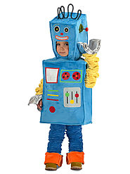 Baby Racket the Robot Costume