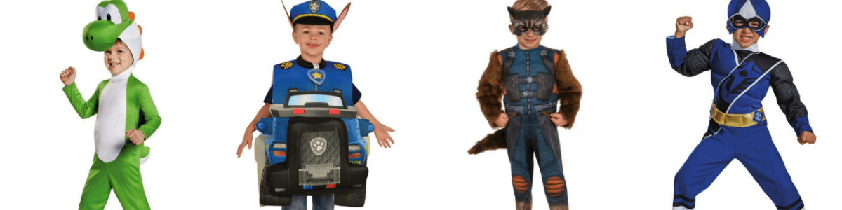 Headline for 25+ Popular Toddler Halloween Costumes for Boys in 2017