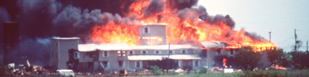 Headline for Siege in Waco: 51 Days On the Branch Davidian Compound