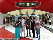 Abu Dhabi Ferrari World Tour, a Glimpse inside the World's Largest Theme Park