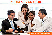 The Role of a Notary Signing Agent