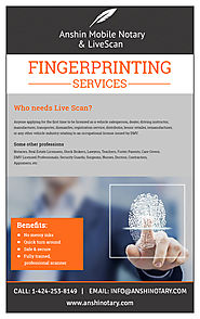 Why Opt for Fingerprinting Services?