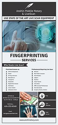 Fingerprinting Services Los Angeles