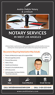 Find Reliable Notarization for Your Documents