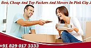 Packers And Movers In Jaipur Giving You The Best Offers At Your Doorstep