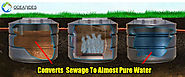 Types of Sewage Treatment Plants