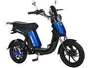 GigaByke Groove - 750W Electric Motorized Bike (Blue)