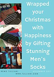Wrapped your christmas with happiness by gifting stunning men's socks
