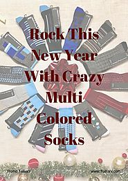 Rock this new year with crazy multi colored socks by Remo Tulliani - issuu