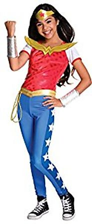 Rubie's Costume Kids DC Superhero Girls Deluxe Wonder Woman Halloween Costume
