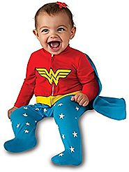 Rubie's Costume Baby Girl's DC Comics Superhero Style Baby Wonder Woman Halloween Costume
