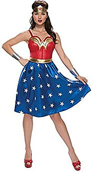 Rubie's Costume Co. Women's Wonder Woman Halloween Costume