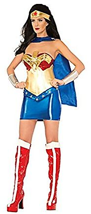 DC Comics Wonder Woman Classic Halloween Costume