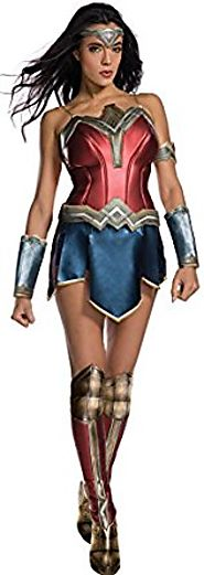 Secret Wishes Women's Wonder Woman Secret Wishes Halloween Costume with Boot Tops