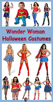 Wonder Woman Halloween Costumes