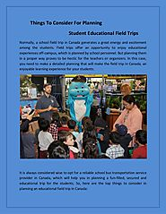 Top 5 student educational field trips ideas