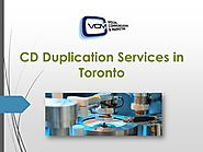 Affordable and Reliable CD Duplication Services In Toronto