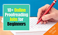10+ Online Proofreading Jobs for Beginners (No Experiences)