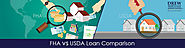 The Difference Between FHA and USDA Mortgage Loans