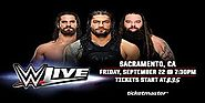 WWE Live Sacramento California 22 September 2017
