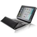 "Splash QUANTUM Wireless Bluetooth Keyboard Leather Folio Case with Stand for ""The New iPad"" 3"
