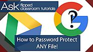 How To Password Protect ANY File in Google Drive