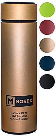 Morex - Coffee Thermos Stainless Steel Water Bottle Thermos Bottle Vacuum Insulated Water Bottle Thermos Water Bottle...