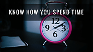 Know How You Spend Time
