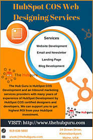 HubSpot COS Web Development - PSD to COS Templates - The Hub Guru